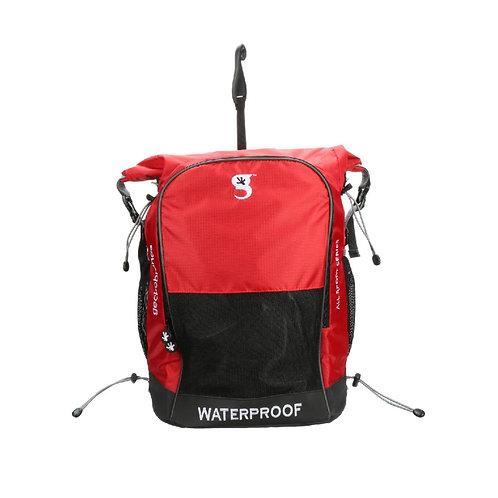 Dueler 32L Waterproof Backpack - Red/Grey