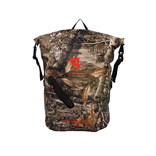 Lightweight 30L Waterproof Backpack - Realtree Edge Camo