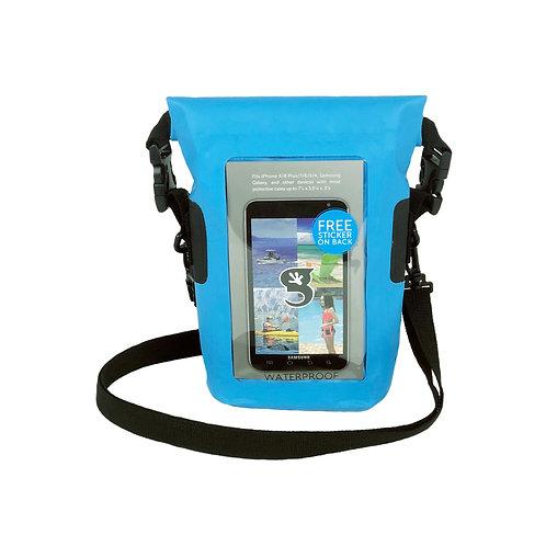 Waterproof Phone Tote - Neon Blue