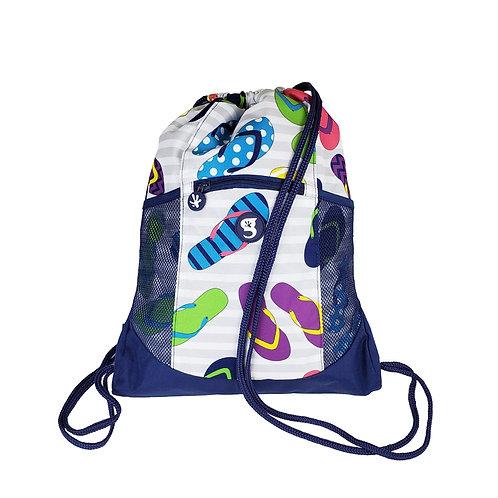 Drawstring Backpack - Flip Flop