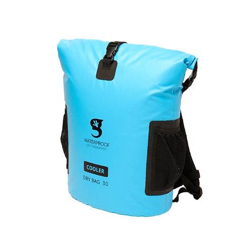 Backpack Dry Bag Cooler - Neon Blue