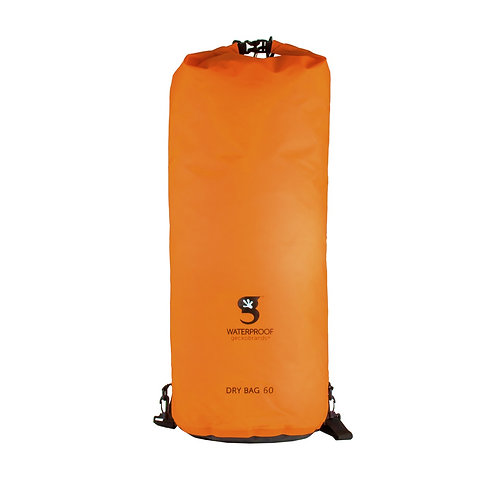 Tarpaulin Dry Bag 60L - Neon Orange