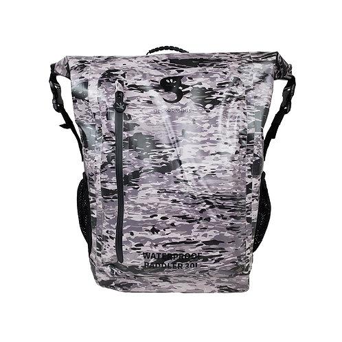 Paddler 30L Waterproof Backpack - Artic geckoflage