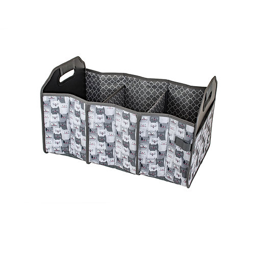 Shopping Cart & Trunk Organizer Tote - Cats