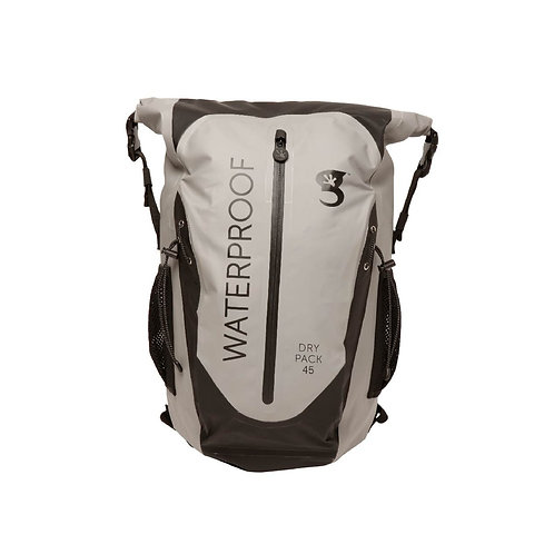 Paddler 45L Waterproof Backpack - Grey