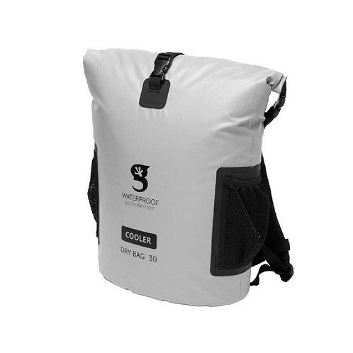 Backpack Dry Bag Cooler - Grey