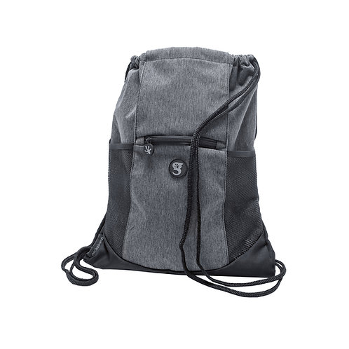 Drawstring Backpack - Everyday Grey