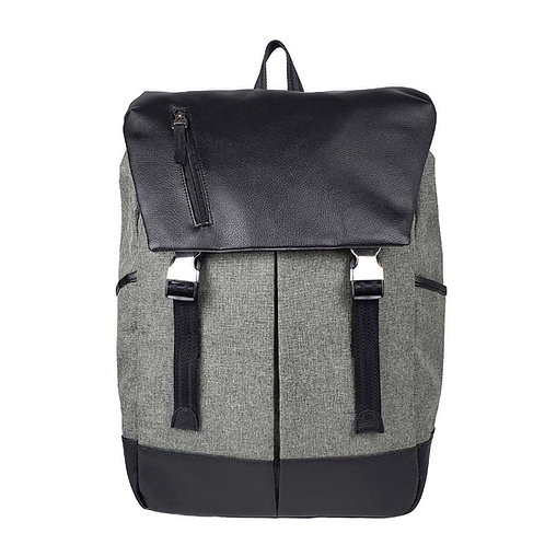 Maven Backpack - Grey Canvas