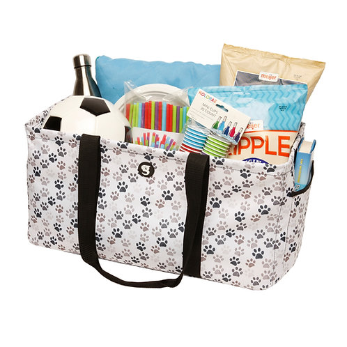 Large Utility Tote - Paws