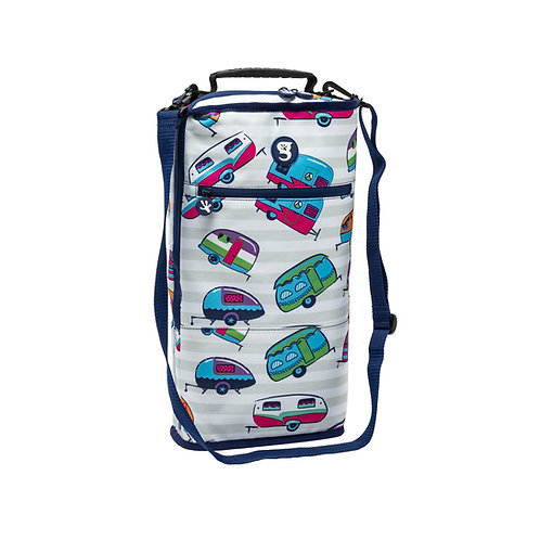 Verticool Cooler - Camper Stripe - Fits up to 9 cans