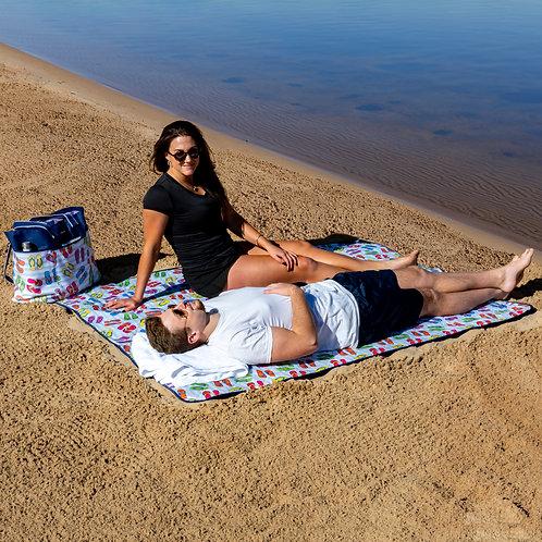 Outdoor All Season Blanket - Flip Flop Toss