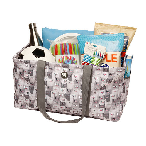 Large Utility Tote - Cats