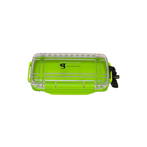 Waterproof Dry Boxes - Medium - Neon Green