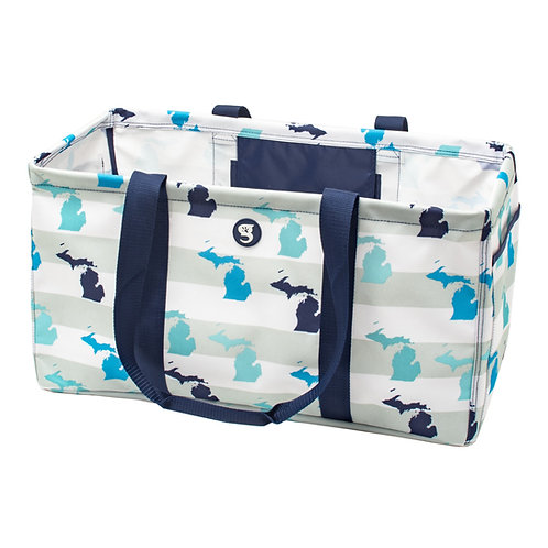 Large Utility Tote - MI Toss