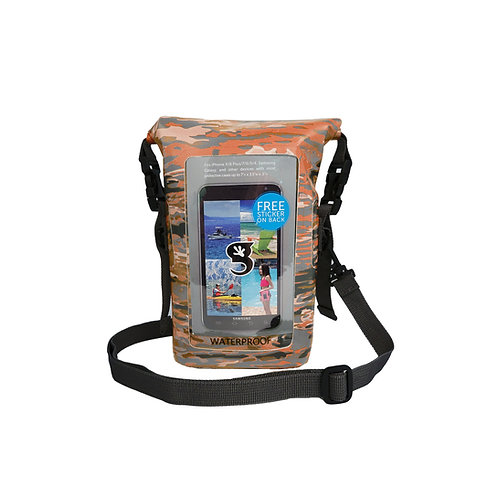 Waterproof Phone Tote - Ember geckoflage