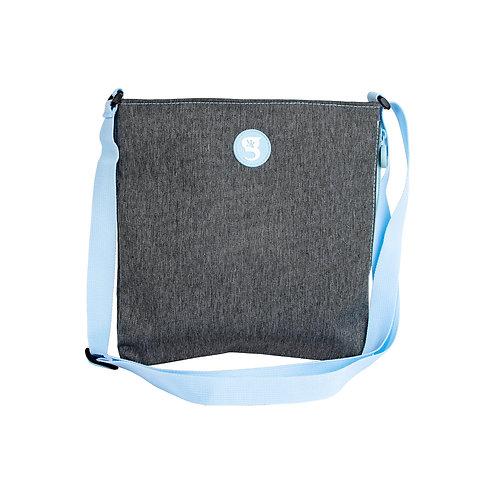 Crossbody Bag - Everyday Grey w/ Blue