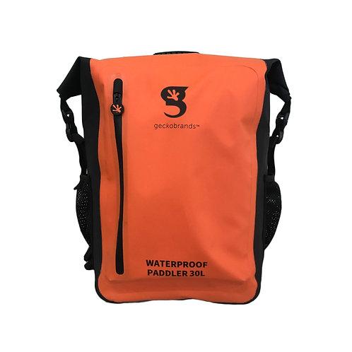 Paddler 30L Waterproof Backpack - Orange