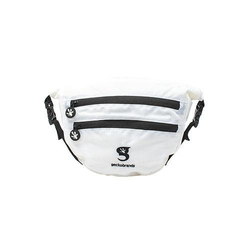 Waterproof Lightweight Dry Bag Waist Pouch - White/Black