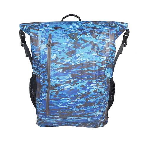 Paddler 30L Waterproof Backpack - Ocean geckoflage