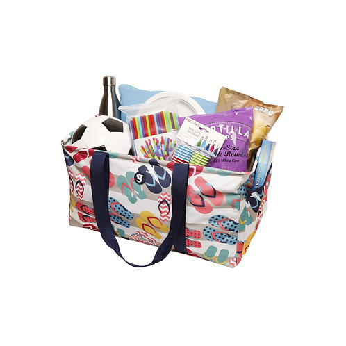 Large Utility Tote - Flip Flop