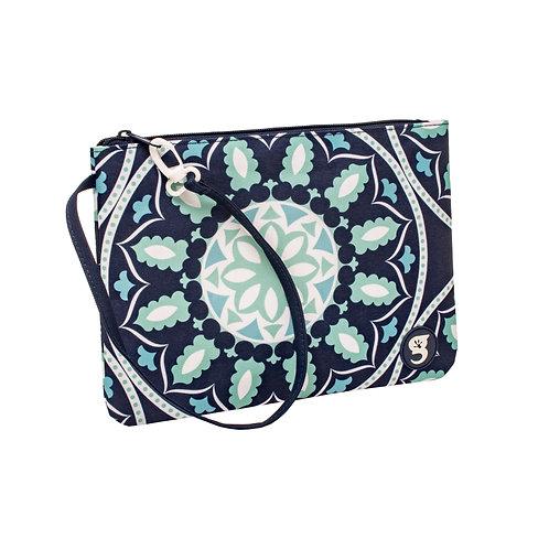 Swim / Small Utility Bags - Blue Medallion
