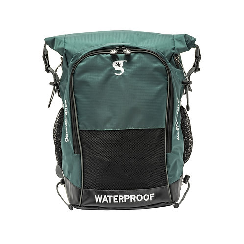 Dueler 32L Waterproof Backpack - Dark Green/Grey