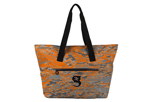 Escape Waterproof Beach Tote - Ember geckoflage