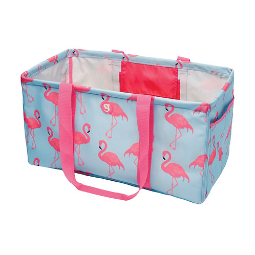 Large Utility Tote - Flamingo