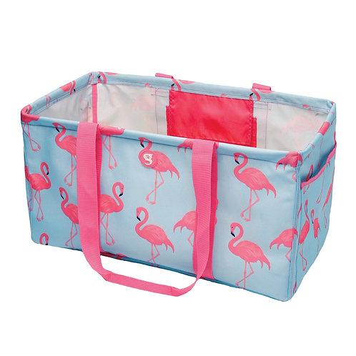Large Utility Tote - Flamingo