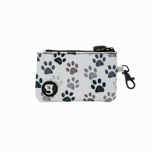 ID Case Wallet W/ Clip - Paws