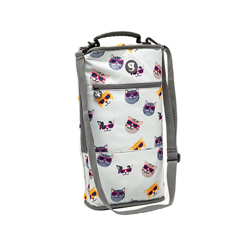 Verticool Cooler - Summer Cats - Fits up to 9 cans