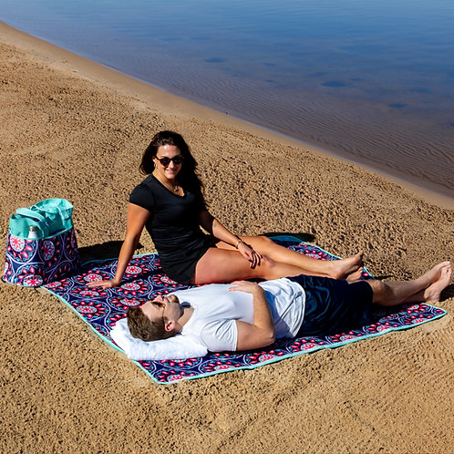 Outdoor All Season Blanket - Summer Medallion