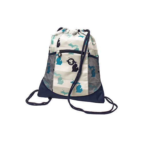 Drawstring Backpack - MI Toss