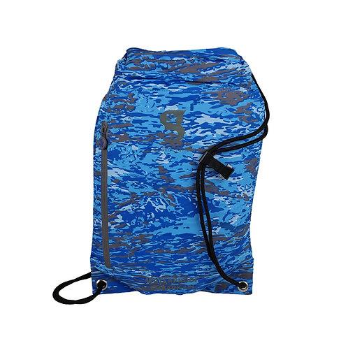 Embark 10L Waterproof Drawstring Backpack - Ocean geckoflage