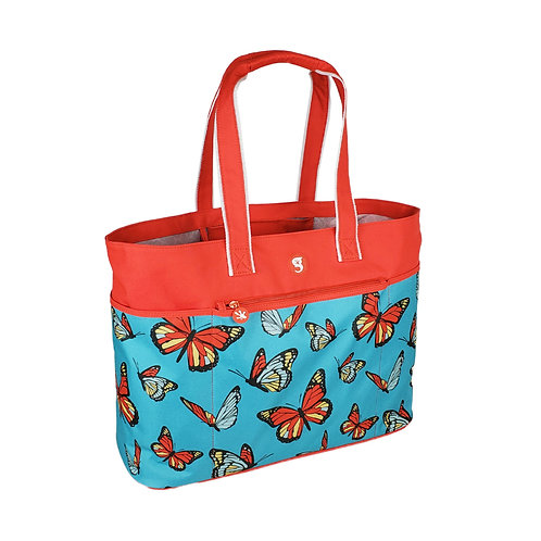 Oversized Beach Tote - Butterfly