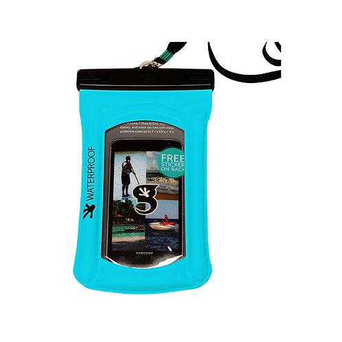 Float Phone Dry Bag - Neon Blue