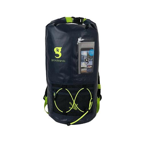 Hydroner 20L Waterproof Backpack - Navy/Neon Green