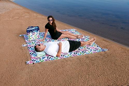 Waterproof Beach Blanket - Flip Flop