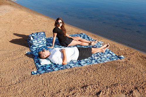 Waterproof Beach Blanket - Fish