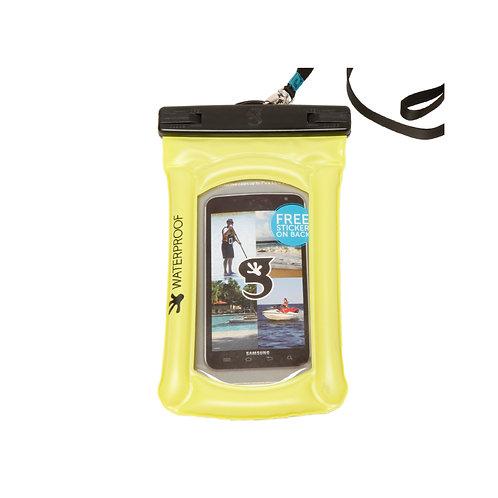 Float Phone Dry Bag - Neon Green