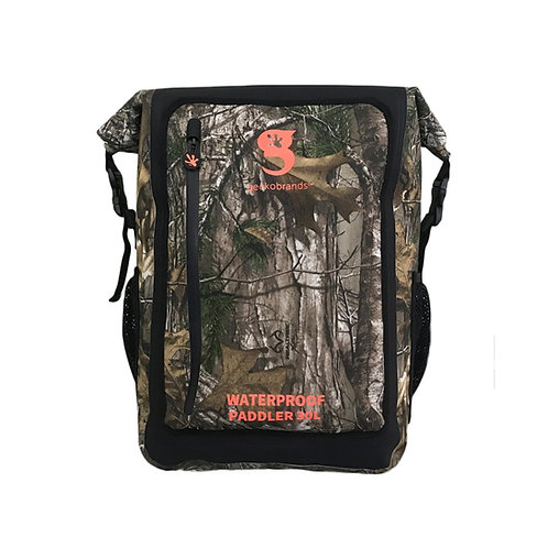 Paddler 30L Waterproof Backpack - Realtree Edge Camo