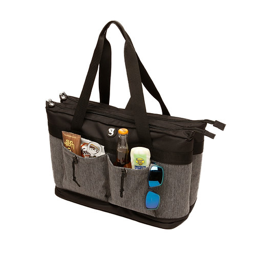 2 Compartment Tote Cooler - Everyday Grey