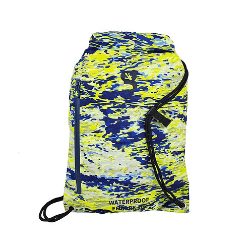 Embark 10L Waterproof Drawstring Backpack - Mahi geckoflage