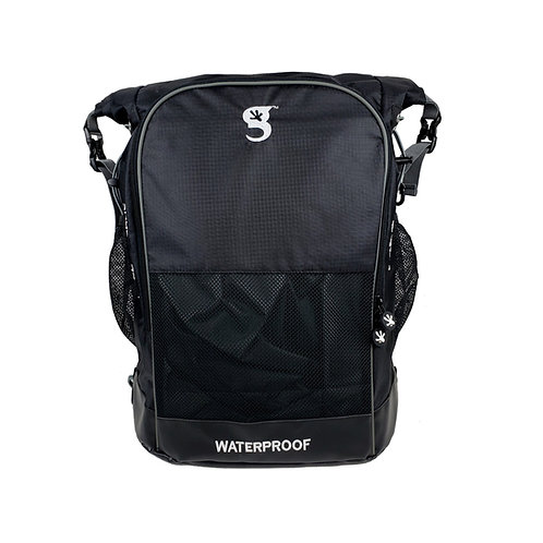 Dueler 32L Waterproof Backpack - Black/Grey