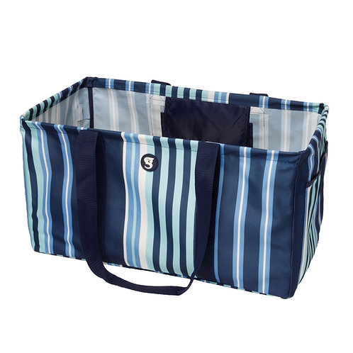 Large Utility Tote - Bluewater Stripe