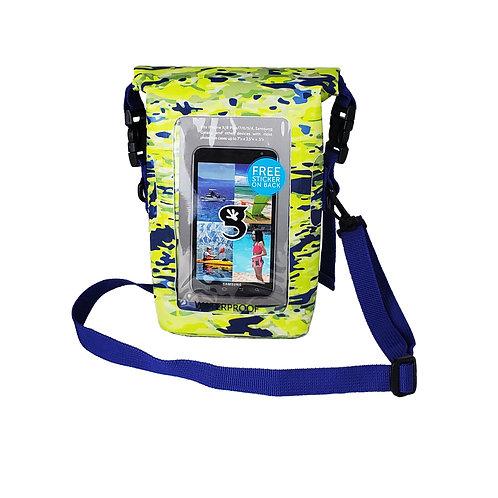 Waterproof Phone Tote - Mahi geckoflage