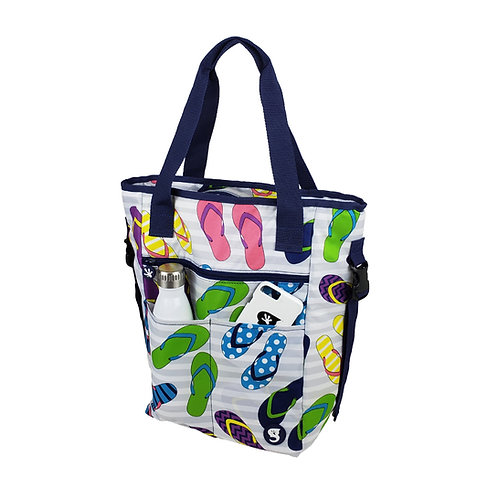Convertible Tote & Backpack - Flip Flop
