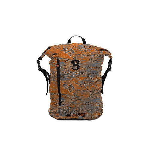 Endeavor 30L Lightweight Waterproof Backpack - Ember geckoflage