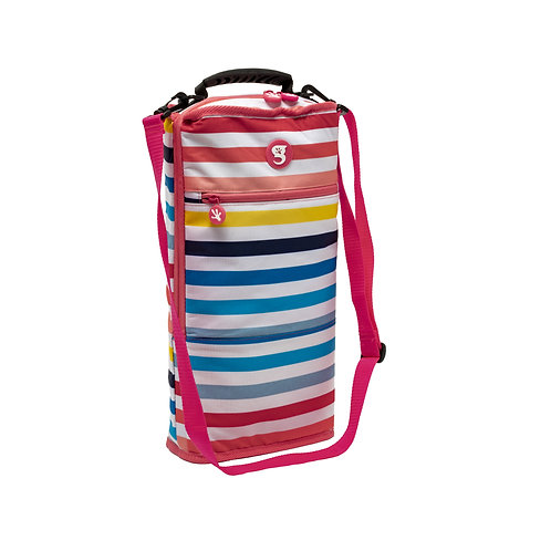 Verticool Cooler -  Sunset Stripe - Fits up to 9 cans