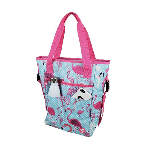 Convertible Tote & Backpack - Flamingo